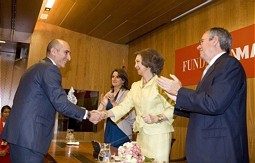 The MAPFRE Foundation Environment Prize was donated by Sofia, Queen of Spain,