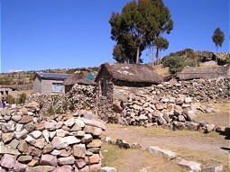 Settlements at Lake Titicaca