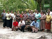 Active Women Group Green Friends in the Mangrove Nursery in Pathamulla at Maduganga