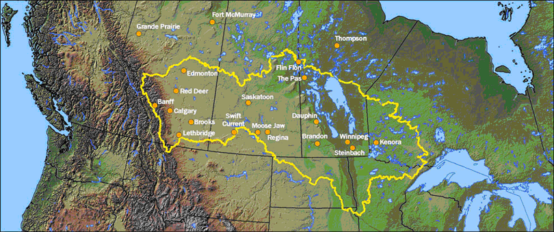 Lake Winnipeg Watershed (Environment Canada)