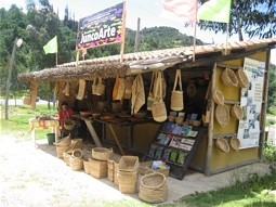 Handcraft shop in Fúquene