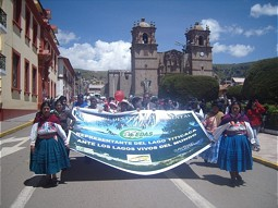 March in Puno (22 March 2012)