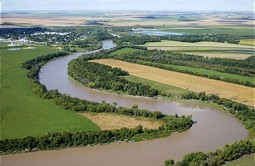 Red River - Greatest inflow of Lake Winnipeg