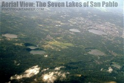 Overview of the Seven Crater Lakes and San Pablo City
