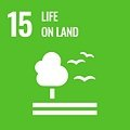 Goal 15: Protect, restore and promote sustainable use of terrestrial ecosystems, sustainably manage forests, combat desertification, and halt and reverse land degradation and halt biodiversity loss